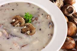Cream of mushroom soup recipe
